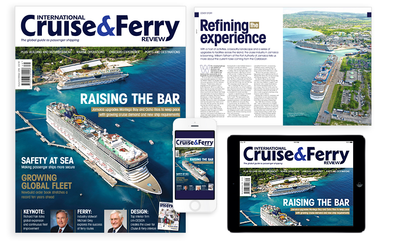 International Cruise and Ferry Review Autumn 2016