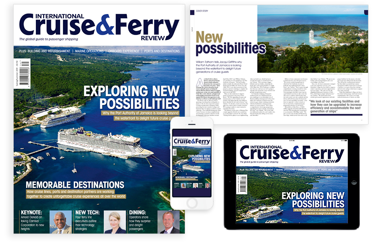 International Cruise and Ferry Review Spring 2018