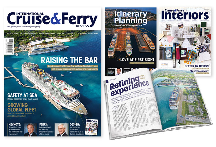 International Cruise and Ferry Review Winter 2014