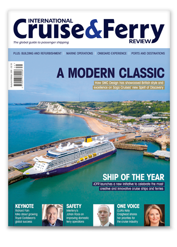 International Cruise and Ferry Review Autumn 2019